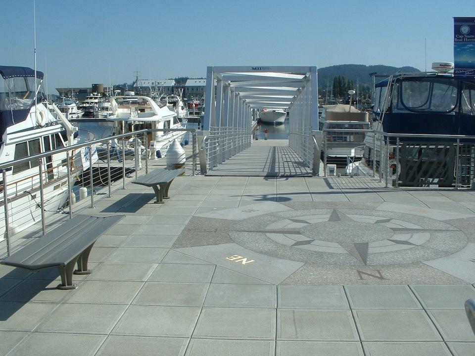 Cap Sante Access Pier