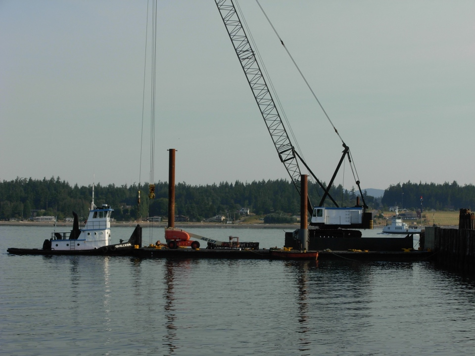 Guemes Ferry (Anacortes side – 2009)